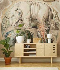 2e6284f68e5a67 Behemoth and Leviatan • Living room - Contemporary - Wall Murals - Art    lifestyle • Pixers® • We live to change