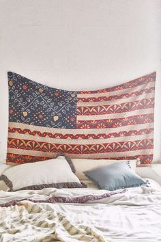 UO American Flag Tapestry
