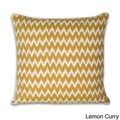 @Overstock.com - Thro Ian Ikat Faux Linen 20-inch Decorative Pillow - Featuring faux-linen construction, this contemporary decorative throw pillow is available in a variety of colors to match your decor, and the feather fill provides extra comfort. The 20-inch square pillow is the ideal size for your sofa or loveseat.  http://www.overstock.com/Home-Garden/Thro-Ian-Ikat-Faux-Linen-20-inch-Decorative-Pillow/7992231/product.html?CID=214117 $20.99