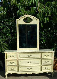 French Provincial Collection Dresser for $225. Download 5miles for free to put in an offer.