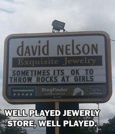 Throw rocks at girls?  sometimes...