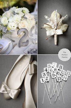 ideas for the beautiful color gray on your special day