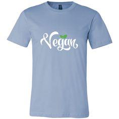 Vegan - Short Sleeve Unisex T-Shirt (Canvas Tee)