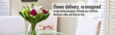 Bloom & Wild - subscription flowers by post, through the letterbox