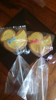 Bby shower cookies