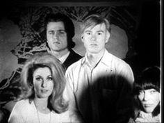 1964 | Andy Warthol with Baby Jane Holzer, Gerard Malanga, and Ivy Nicholson ...