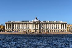 Imperial Academy of Arts - Wikipedia Catherine The Great, Peter The Great, Russian Architecture, Classical Architecture, Forest Path, Royal Residence, Empire Style, Neoclassical, Places Around The World