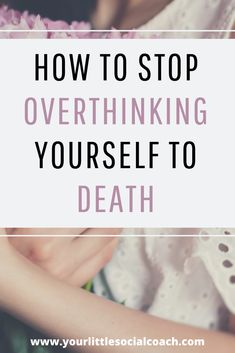 How to stop overthinking yourself to death - Your Little Social Coach Negative Thinking, Negative Thoughts, Happy Thoughts, Positive Thoughts, Funny Inspirational Quotes, Funny Quotes, Therapy Journal, Other Ways To Say, What Is Social