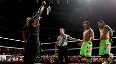 Money in the Bank 2013: The Usos vs The Shield - WWE Tag Team Championship Match