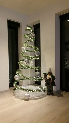 èèn van de inzendingen van de Kerst spiraal van de Tuinfee van 2015, prachtig toch ?