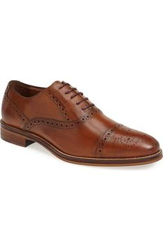 Johnston & Murphy 'Conard' Cap Toe Oxford (Men) available at #Nordstrom  Don't know when I'd wear these but nice still