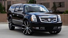 We Offer Fitment Guarantee on Our Rims For Cadillac Escalade. All Cadillac Escalade Rims For Sale Ship Free with Fast & Easy Returns, Shop Now. Cadillac Ats, Cadillac Escalade, Escalade Esv, Rims And Tires, Wheels And Tires, My Dream Car, Dream Cars, Pimped Out Cars, 4x4