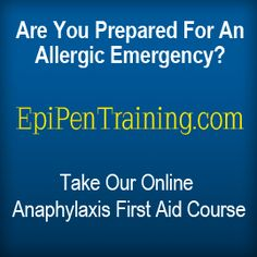WHAT is anaphylaxis?  EpiCenter™Medical provides online anaphylaxis first aid training  Co-founded by Allergist Dr. Mark Greenwald and Allergy Expert & Lawyer, Elizabeth Goldenberg.
