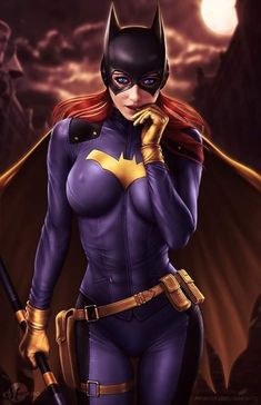 Batgirl (SFW) by martaino on DeviantArt Marvel Vs Dc Comics, Dc Comics Girls, Dc Comics Art, Dc Batgirl, Batwoman, Batman Cosplay, Pokemon Cosplay, Female Hero, Batman Universe