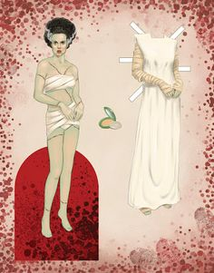 Goth Shopaholic: New Gothic and Horror Paper Dolls for Rainy Autumn Sundays