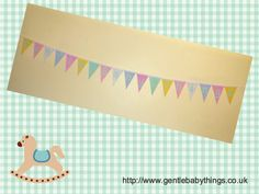 Business Venture! They can be found at: http://www.gentlebabythings.co.uk #bunting