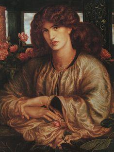 La Donna Della Finestra, 1879, Fogg Art Museum at Harvard University.