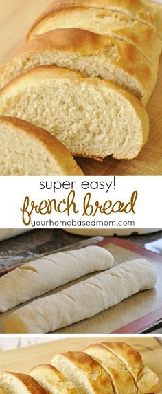 Quick & Easy French Bread – you will never buy store bought again! Quick & Easy French Bread – you will never buy store bought again! Easy French Bread Recipe, Homemade French Bread, Easy Bread Recipes, Baking Recipes, Baking Snacks, Homemade Breads, Homemade Bread Easy Quick, French Recipes, Dessert Recipes