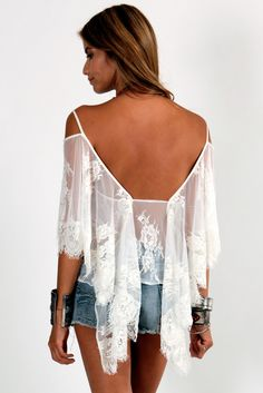 BACK IN STOCK! Jen's Pirate Booty Ethereal Butterfly Top