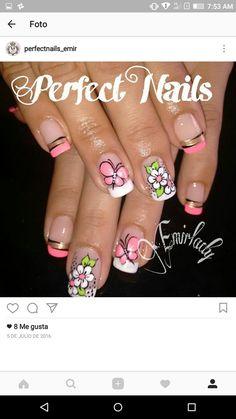 Gel Nail Designs, Gel Nails, Beauty Hacks, Lily, Nail Art, Makeup, Art Nails, Hair, Mandala Nails