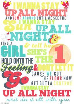 Up All Night. <3