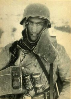 German soldier, Eastern Front WWII