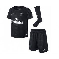 PSG Tredje trøje Børn 17-18 Kort ærmer #Billige Fodboldtrøjer