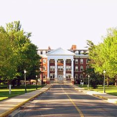 """Hood College (Alumni Hall from the front gate) in Frederick, MD which is the inspiration for Mt. Airy University's campus in """"Fatal Target"""". Hood College, Places Ive Been, Places To Go, I Know A Place, Calling America, Frederick Maryland, Front Gates, University Of Maryland, Alma Mater"""