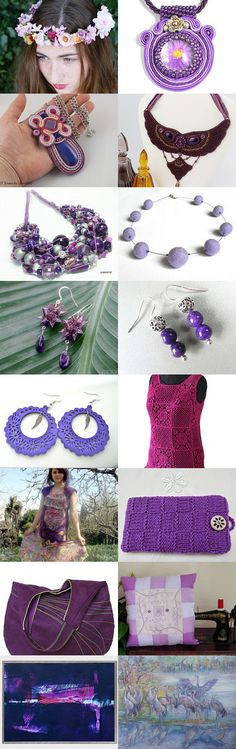 We love purple. :) by poletsy on Etsy--Pinned+with+TreasuryPin.com