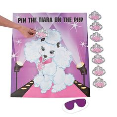 """""""Pin+the+Tiara+on+the+Pup""""+Game+-+OrientalTrading.com"""
