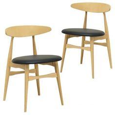 Set of 2 - Telyn Dining Chair - Espresso