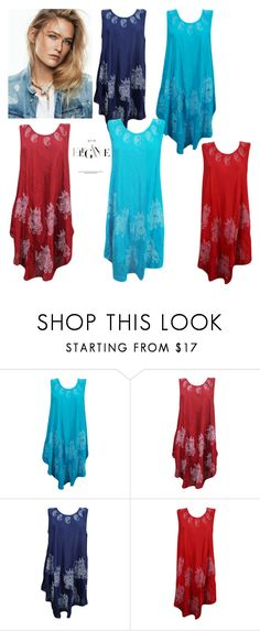 """""""Colorful Poncho Dress"""" by era-chandok ❤ liked on Polyvore"""