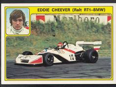 Panini Super Auto 1977 Sticker - No 29 - Eddie Cheever, Ralt RT1 BMW | eBay