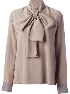 VICTORIA BECKHAM Pussy Bow Blouse