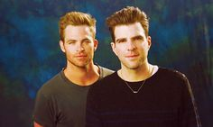 Chris Pine & Zachary Quinto