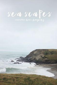 Sea Scapes - On Serpentine Shores