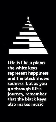 Life explained by a piano!!