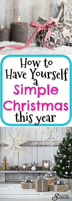 simple christmas ideas | christmas traditions | frugal christmas | minimalist christmas | christmas on a budget via @CherylLemily