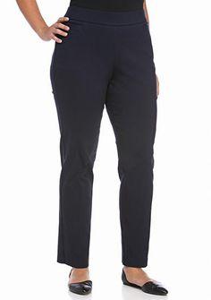 4bc670e7347f7 Kim Rogers® Plus Size Millennium Pant (Average Length)