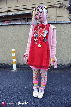 Magazine on Japanese street fashion, runway fashion and street culture. Harajuku Girls, Harajuku Fashion, Japan Fashion, Runway Fashion, Japan Street, Tokyo Street Style, Japanese Streets, Japanese Street Fashion, Youre Cute