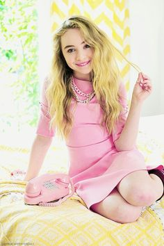 Sabrina Carpenter from Girl Meets World on Disney Channel. Love the pink dress! Sabrina Carpenter, Girl Meets World, Girl Celebrities, Celebs, Hollywood Celebrities, Rowan Blanchard, Disney Stars, Disney Channel, Celebrity Photos