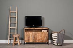 TV-meubel Husky Industrieel