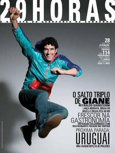 revista 29HORAS - ed.40 - fevereiro 2013  Revista mensal com agenda cultural de São Paulo, distribuída no Aeroporto de Congonhas. Capa: Reynaldo Gianecchini