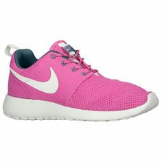 huge selection of 2d4b1 df896 Nike Roshe Run - Women s - Club Pink Dark Armory Blue Volt Summit White