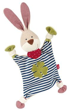 Sigikid Comforter Organic Collection Bunny £19.60 This soft and cuddly bunny made of 100% natural materials is ideal for baby's first attempts at grabbing things, velvety soft for snuggling and offers comfort when baby needs it. It's the perfect companion for baby's first year.