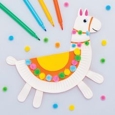 Paper Plate Llama | Free Craft Ideas | Baker Ross