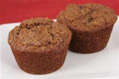 High fiber, low cal, low fat bran muffins