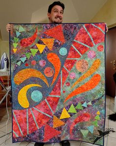 Custom Baby quilt (and silly husband)