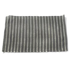 Free Shipping. Buy Gray and White Cotton Rich Striped Rug at Walmart.com