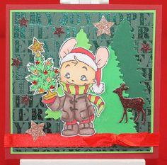 Tinas kreative Seite - #21 von 24 Squares for Christmas